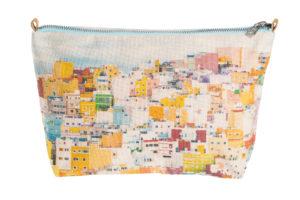 Colourful houses of San Juan, Gran Canaria - Mini Pouch
