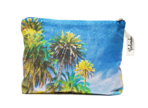 Palm trees in the night Pouch