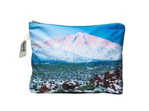 Teide nevado Tenerife Pouch