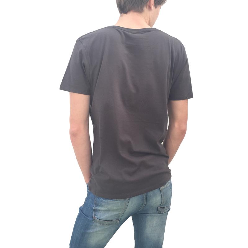 Canario by birth Beig Espalda Camiseta Hombre