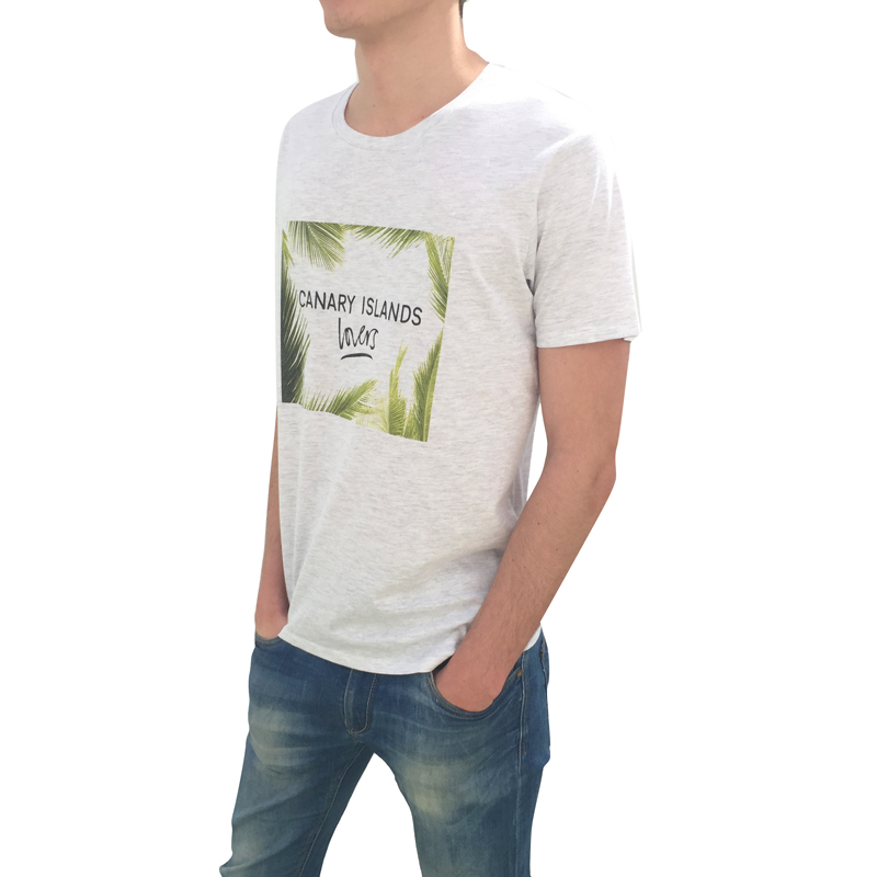Canary Islands Lovers Lateral Hombre Camiseta