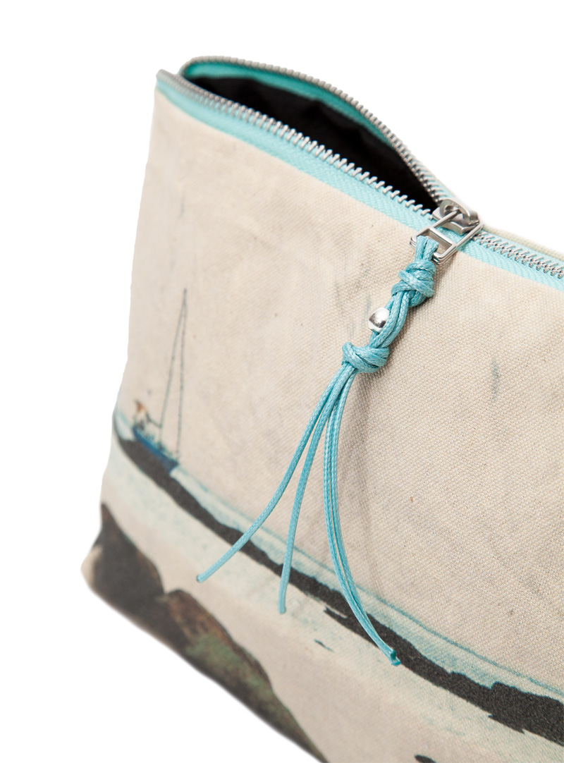 La Graciosa. Sailboat - Detail Mini Pouch