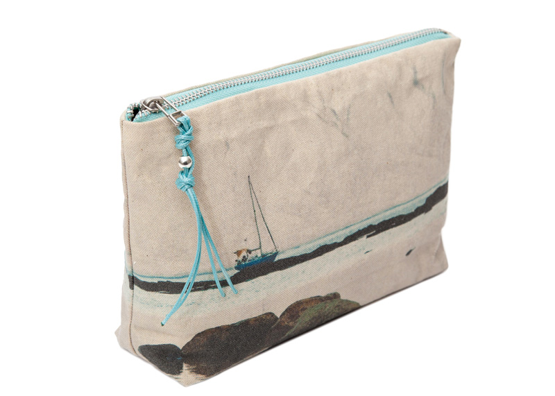 La Graciosa. Sailboat - Lateral Mini Pouch