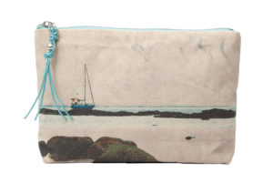 La Graciosa. Sailboat - Mini Pouch