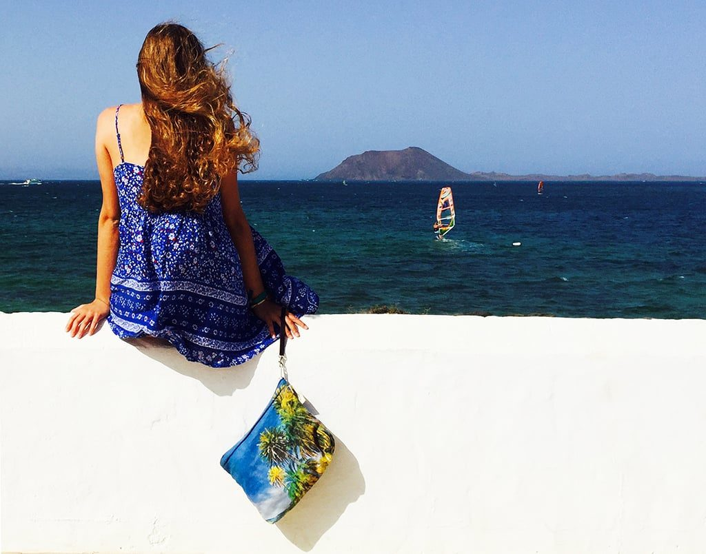 Pouch Palmeras Afortunadas Islas Canarias