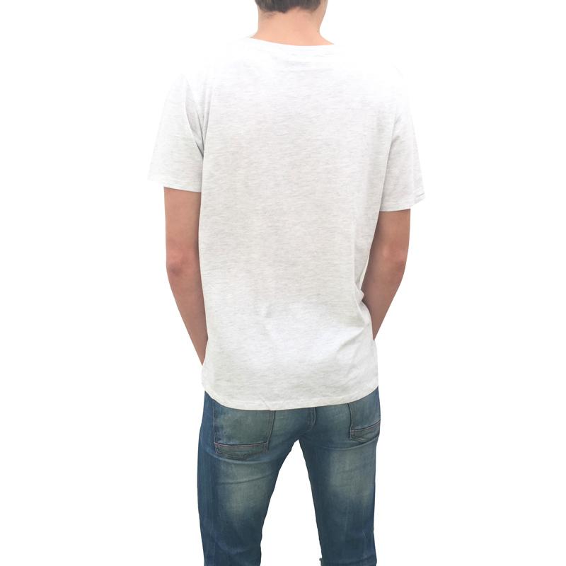 Canario by birth Negro Lateral Camiseta Hombre