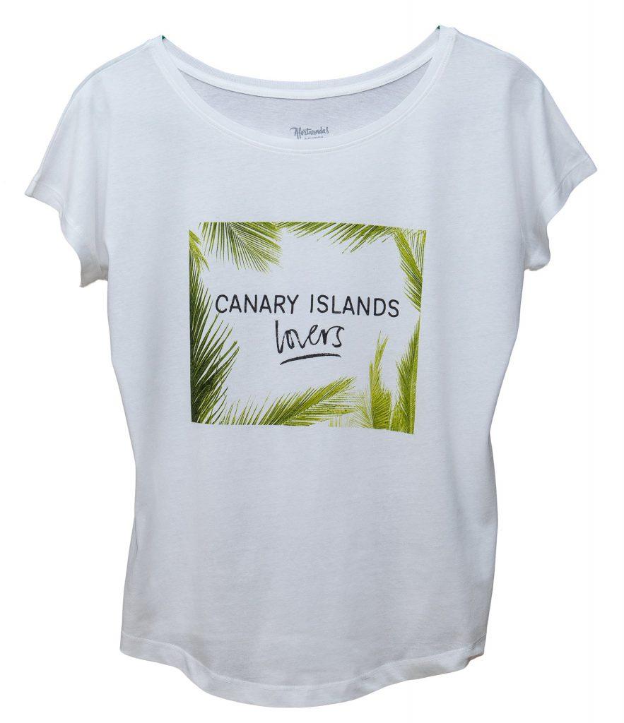 Canary Islands lover mujer camiseta