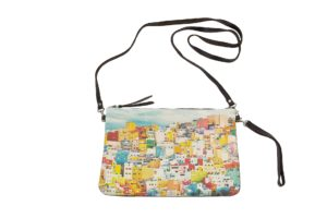 Colourful houses of San Juan-frontal-handbag