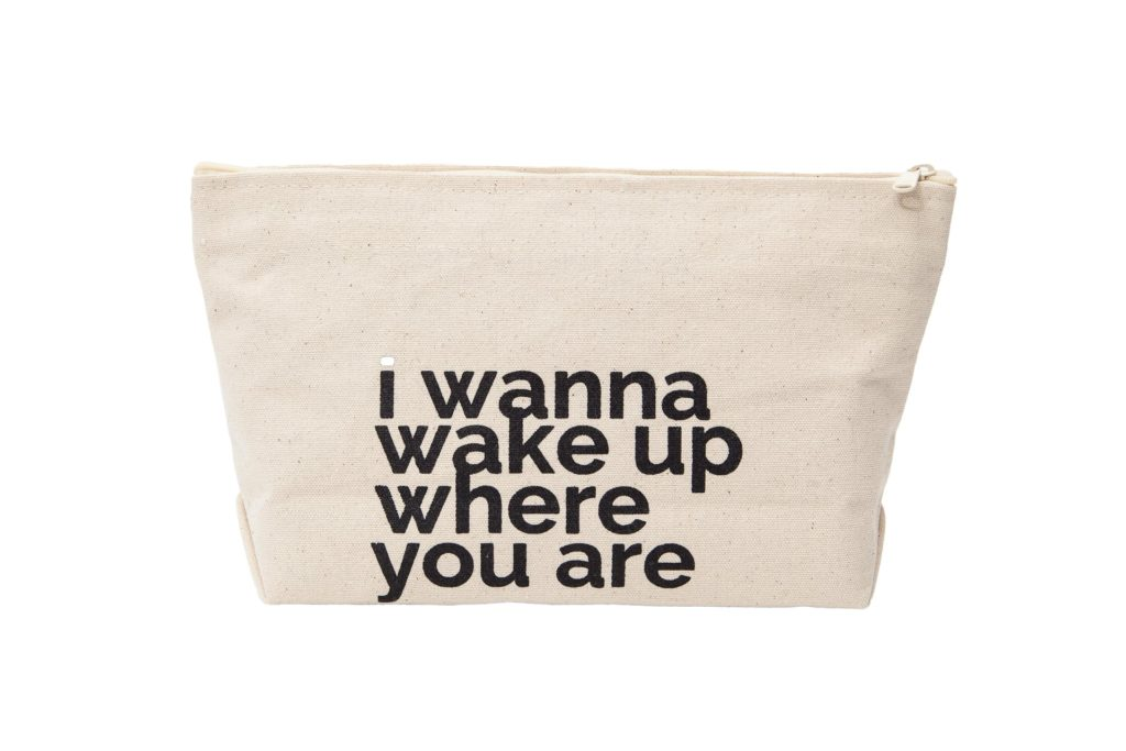 I wanna be with you frontal letterpouch
