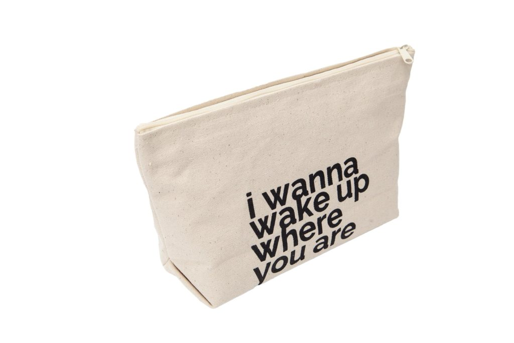 I wanna be with you lateral letterpouch