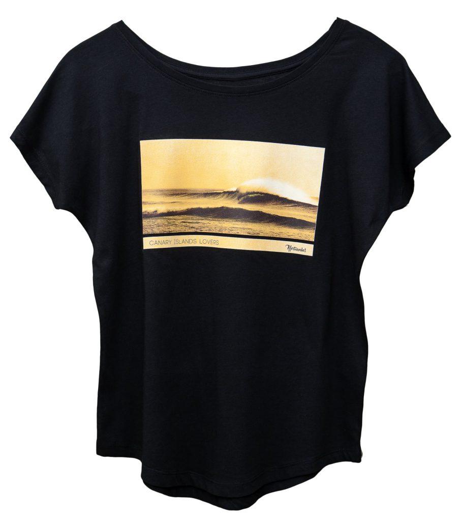 Ola en El Cotillo camiseta mujer