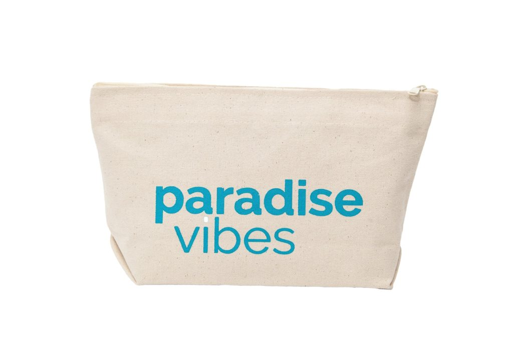Paradise vibes frontal letterpouch