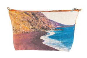 Red beach. El Vedoral, El Hierro - Mini Pouch