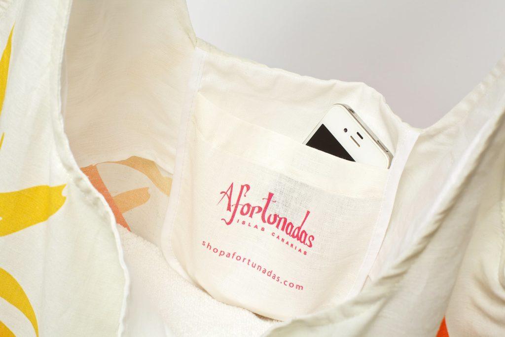 Strelitzia detalle shoppingbag