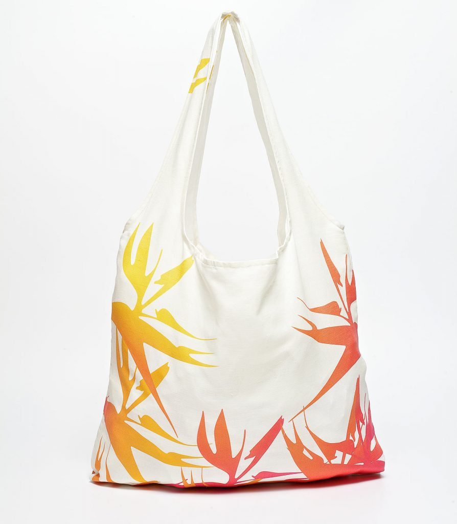 Strelitzia frontal shoppingbag
