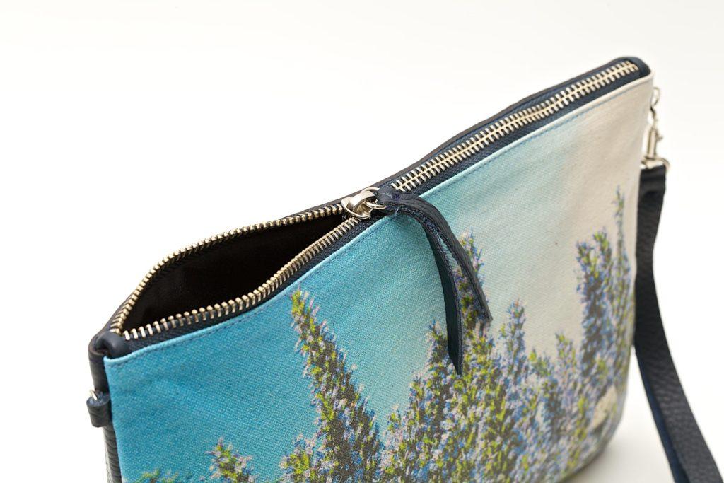 Tajinaste Azul detalle bandolera