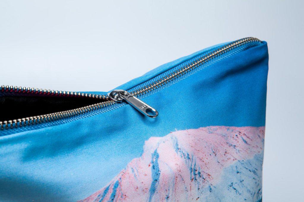 Teide nevado detalle pouch